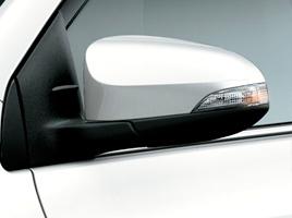 Espejos exteriores con luz de giro incorporada.