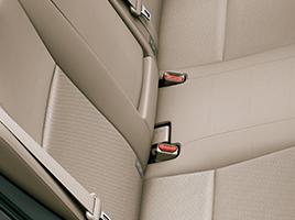 Sistema de aclaje ISOFIX (x2) en asientos traseros.