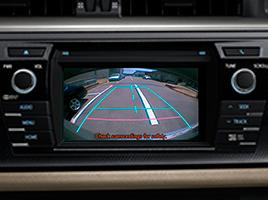 Monitor de cámara de estacionamiento en pantalla LCD .