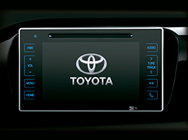 "Pantalla táctil de 7"" con GPS, DVD player, TV digital, MP3 y Bluetooth®."