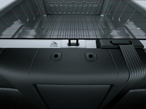 Toyota Hilux Anclajes Isofix