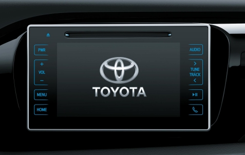 Toyota Hilux Central Multimedia