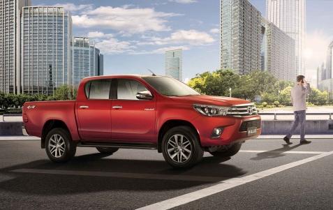 Toyota Hilux Diseño Exterior