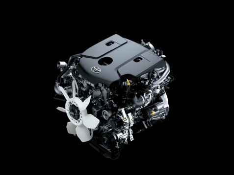 Toyota Hilux Motor 1GD