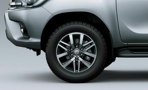 Toyota Hilux Llanta y Rodado
