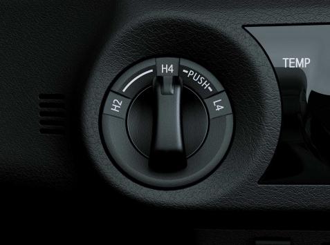 Toyota Hilux SELECTOR ELECTRÓNICO 4X4