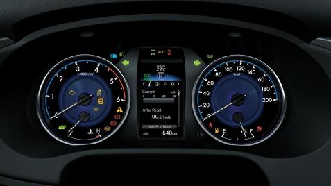 Toyota Hilux Tablero de Instrumentos SRX y SRV