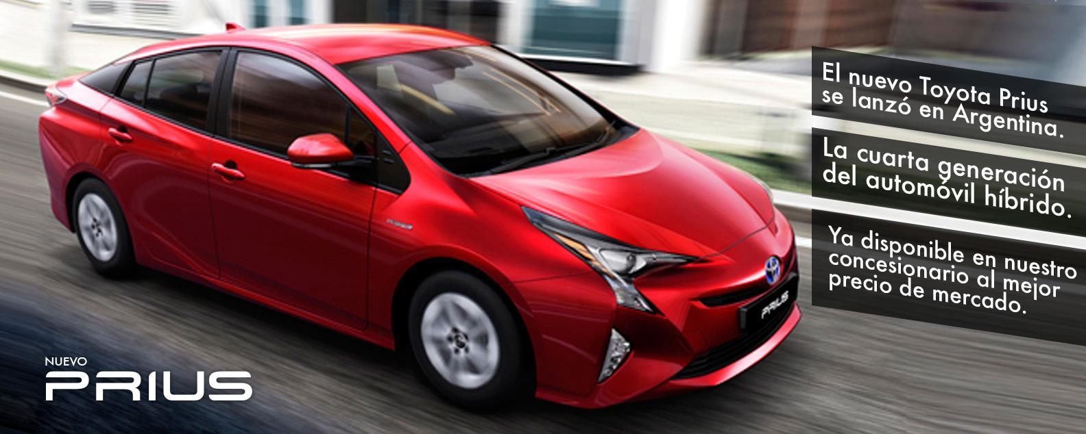 Nuevo Toyota Prius Cuarta Generación.